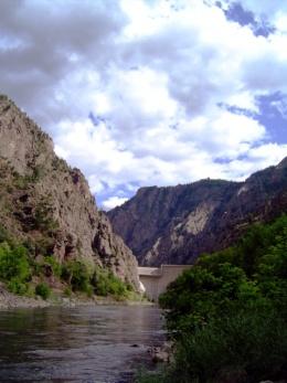black canyon scene